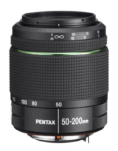 Pentax K 50 SLR-Digitalkamera (16 Megapixel, APS-C CMOS Sensor, 1080p, Full HD, 7,6 cm (3 Zoll) Display, Bildstabilisator) weiß inkl. Objektiven DA L 18-55 mm WR & 50-200 mm WR - 1