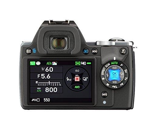 Pentax K-S1 SLR-Digitalkamera (20 Megapixel, 7,6 cm (3 Zoll) TFT Farb-LCD-Display, ultrakompaktes Gehäuse, Anti-Moiré-Funktion, Empfindlichkeit bis zu ISO 51200, Full-HD-Video, Wi-Fi, HDMI) inkl Double Zoom Kit DAL18-55 mm und DAL 50-200 mm Objektiv schwarz - 4