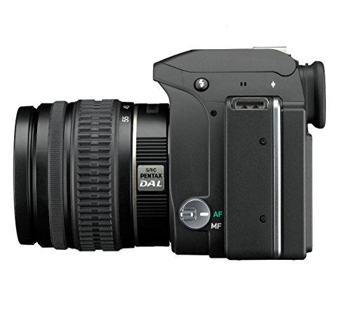 Pentax K-S1 SLR-Digitalkamera (20 Megapixel, 7,6 cm (3 Zoll) TFT Farb-LCD-Display, ultrakompaktes Gehäuse, Anti-Moiré-Funktion, Empfindlichkeit bis zu ISO 51200, Full-HD-Video, Wi-Fi, HDMI) inkl Double Zoom Kit DAL18-55 mm und DAL 50-200 mm Objektiv schwarz - 5