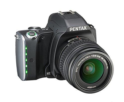 Pentax K-S1 SLR-Digitalkamera (20 Megapixel, 7,6 cm (3 Zoll) TFT Farb-LCD-Display, ultrakompaktes Gehäuse, Anti-Moiré-Funktion, Empfindlichkeit bis zu ISO 51200, Full-HD-Video, Wi-Fi, HDMI) inkl Double Zoom Kit DAL18-55 mm und DAL 50-200 mm Objektiv schwarz - 7