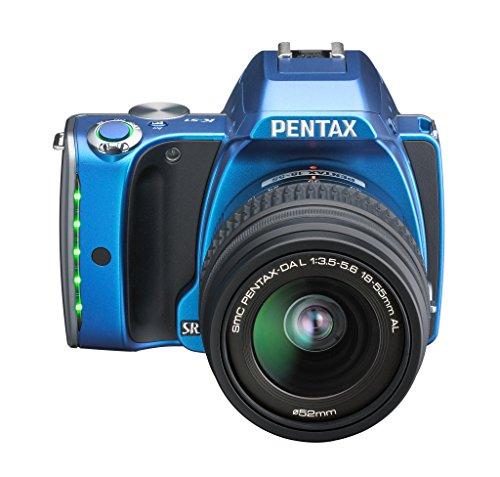 Pentax K-S1 SLR-Digitalkamera (20 Megapixel, 7,6 cm (3 Zoll) TFT Farb-LCD-Display, ultrakompaktes Gehäuse, Anti-Moiré-Funktion, Empfindlichkeit bis zu ISO 51200, Full-HD-Video, Wi-Fi, HDMI) Kit inkl. DAL 18-55 mm Objektiv blau - 3
