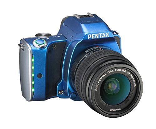 Pentax K-S1 SLR-Digitalkamera (20 Megapixel, 7,6 cm (3 Zoll) TFT Farb-LCD-Display, ultrakompaktes Gehäuse, Anti-Moiré-Funktion, Empfindlichkeit bis zu ISO 51200, Full-HD-Video, Wi-Fi, HDMI) Kit inkl. DAL 18-55 mm Objektiv blau - 5