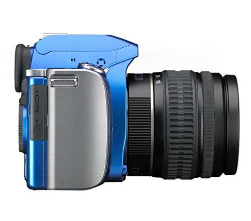Pentax K-S1 SLR-Digitalkamera (20 Megapixel, 7,6 cm (3 Zoll) TFT Farb-LCD-Display, ultrakompaktes Gehäuse, Anti-Moiré-Funktion, Empfindlichkeit bis zu ISO 51200, Full-HD-Video, Wi-Fi, HDMI) Kit inkl. DAL 18-55 mm Objektiv blau - 7