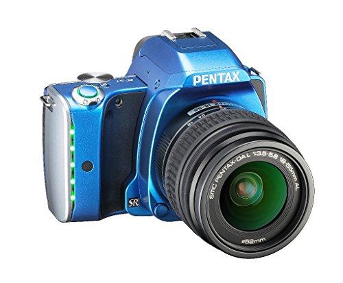 Pentax K-S1 SLR-Digitalkamera (20 Megapixel, 7,6 cm (3 Zoll) TFT Farb-LCD-Display, ultrakompaktes Gehäuse, Anti-Moiré-Funktion, Empfindlichkeit bis zu ISO 51200, Full-HD-Video, Wi-Fi, HDMI) Kit inkl. DAL 18-55 mm Objektiv blau - 9