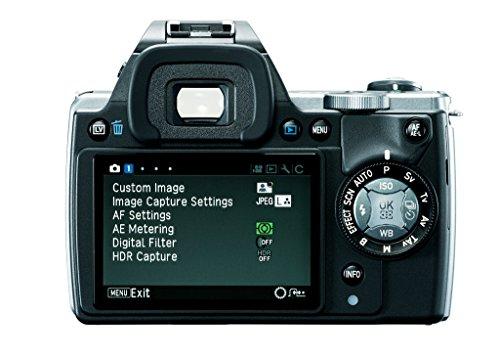 Pentax K-S1 SLR-Digitalkamera (20 Megapixel, 7,6 cm (3 Zoll) TFT Farb-LCD-Display, ultrakompaktes Gehäuse, Anti-Moiré-Funktion, Empfindlichkeit bis zu ISO 51200, Full-HD-Video, Wi-Fi, HDMI) Kit inkl. DAL 18-55 mm Objektiv schwarz - 1