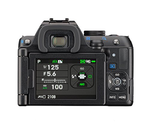 Pentax K-S2 Spiegelreflexkamera (20 Megapixel, 7,6 cm (3 Zoll) LCD-Display, Full-HD-Video, Wi-Fi, GPS, NFC, HDMI, USB 2.0) Double-Zoom-Kit inkl. 18-50mm und 50-200mm WR-Objektiv schwarz - 8