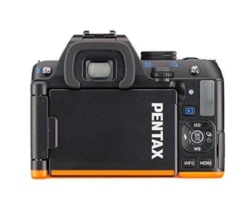 Pentax K-S2 Spiegelreflexkamera (20 Megapixel, 7,6 cm (3 Zoll) LCD-Display, Full-HD-Video, Wi-Fi, GPS, NFC, HDMI, USB 2.0) Kit inkl. 18-135mm WR-Objektiv schwarz/orange - 2