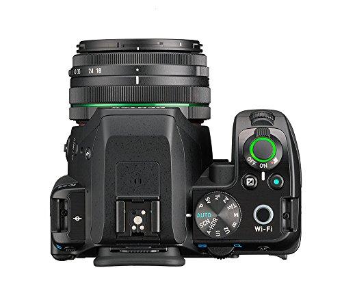 Pentax K-S2 Spiegelreflexkamera (20 Megapixel, 7,6 cm (3 Zoll) LCD-Display, Full-HD-Video, Wi-Fi, GPS, NFC, HDMI, USB 2.0) Kit inkl. 18-50mm WR-Objektiv schwarz - 3