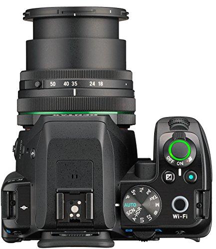 Pentax K-S2 Spiegelreflexkamera (20 Megapixel, 7,6 cm (3 Zoll) LCD-Display, Full-HD-Video, Wi-Fi, GPS, NFC, HDMI, USB 2.0) Kit inkl. 18-50mm WR-Objektiv schwarz - 9