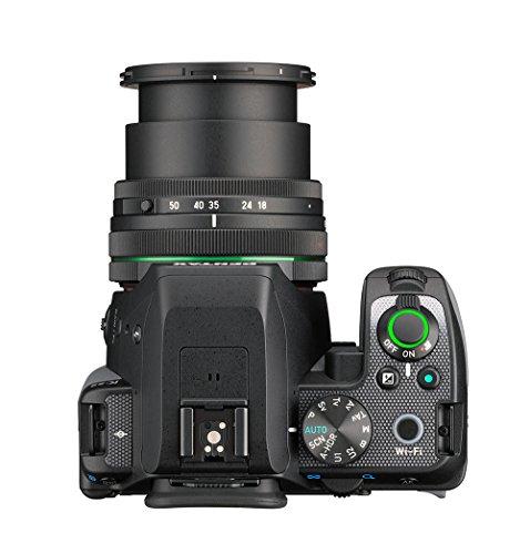 Pentax K-S2 Spiegelreflexkamera (20 Megapixel, 7,6 cm (3 Zoll) LCD-Display, Full-HD-Video, Wi-Fi, GPS, NFC, HDMI, USB 2.0) Kit inkl. 18-50mm WR-Objektiv schwarz/orange - 6