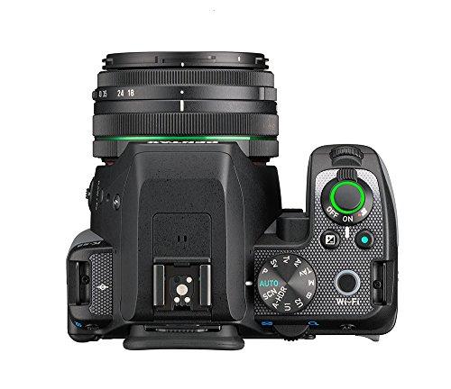 Pentax K-S2 Spiegelreflexkamera (20 Megapixel, 7,6 cm (3 Zoll) LCD-Display, Full-HD-Video, Wi-Fi, GPS, NFC, HDMI, USB 2.0) Kit inkl. 18-50mm WR-Objektiv schwarz/orange - 7
