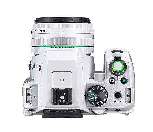 Pentax K-S2 Spiegelreflexkamera (20 Megapixel, 7,6 cm (3 Zoll) LCD-Display, Full-HD-Video, Wi-Fi, GPS, NFC, HDMI, USB 2.0) Kit inkl. 18-50mm WR-Objektiv weiß - 6