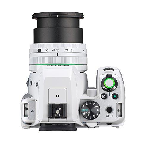 Pentax K-S2 Spiegelreflexkamera (20 Megapixel, 7,6 cm (3 Zoll) LCD-Display, Full-HD-Video, Wi-Fi, GPS, NFC, HDMI, USB 2.0) Kit inkl. 18-50mm WR-Objektiv weiß - 7