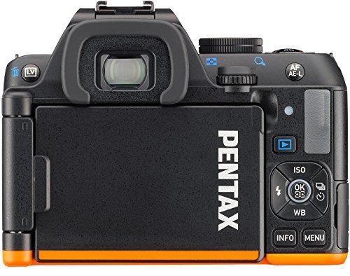 Pentax K-S2 Spiegelreflexkamera (20 Megapixel, 7,6 cm (3 Zoll) LCD-Display, Full-HD-Video, Wi-Fi, GPS, NFC, HDMI, USB 2.0) nur Gehäuse schwarz/orange - 3