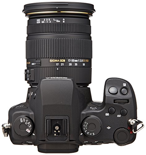 Sigma SD1 Merrill SLR-Digitalkamera (46 Megapixel, 7,6 cm (3 Zoll) Display, CF-Kartenslot) Kit inkl. 17-50 mm F2,8 EX DC OS Objektiv für Sigma Objektivbajonett - 2