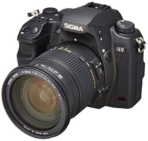Sigma SD1 Merrill SLR-Digitalkamera (46 Megapixel, 7,6 cm (3 Zoll) Display, CF-Kartenslot) Kit inkl. 17-50 mm F2,8 EX DC OS Objektiv für Sigma Objektivbajonett - 4