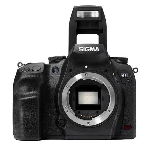 Sigma SD1 Merrill SLR-Digitalkamera (46 Megapixel, 7,6 cm (3 Zoll) Display, CF-Kartenslot) schwarz - 1