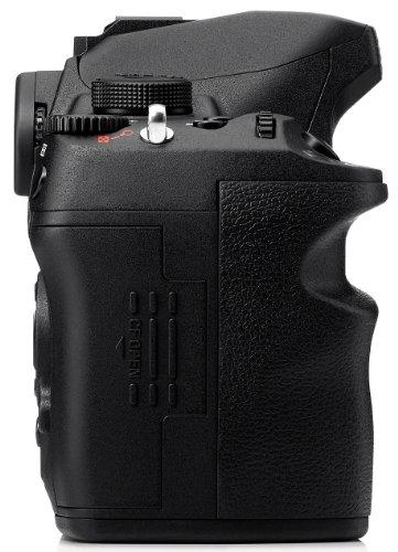 Sigma SD1 Merrill SLR-Digitalkamera (46 Megapixel, 7,6 cm (3 Zoll) Display, CF-Speicherkartenslot) Kit inkl. 18-200/3,5-6,3 II DC OS HSM Objektiv für Sigma Objektivbajonett schwarz - 3