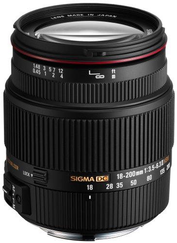 Sigma SD1 Merrill SLR-Digitalkamera (46 Megapixel, 7,6 cm (3 Zoll) Display, CF-Speicherkartenslot) Kit inkl. 18-200/3,5-6,3 II DC OS HSM Objektiv für Sigma Objektivbajonett schwarz - 6