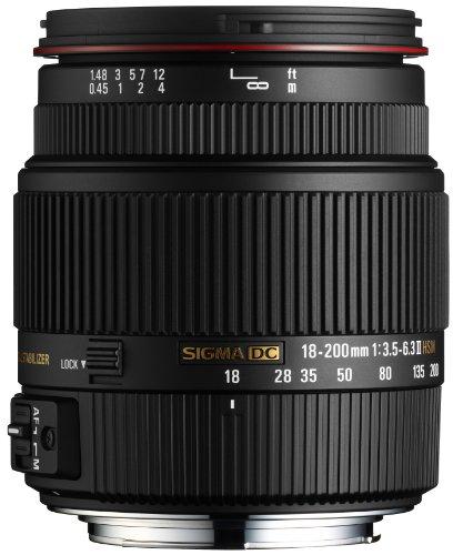Sigma SD1 Merrill SLR-Digitalkamera (46 Megapixel, 7,6 cm (3 Zoll) Display, CF-Speicherkartenslot) Kit inkl. 18-200/3,5-6,3 II DC OS HSM Objektiv für Sigma Objektivbajonett schwarz - 7