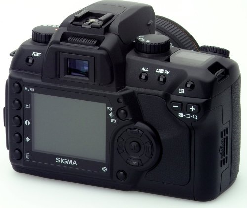 Sigma SD14 SLR-Digitalkamera (14 Megapixel) nur Gehäuse - 2