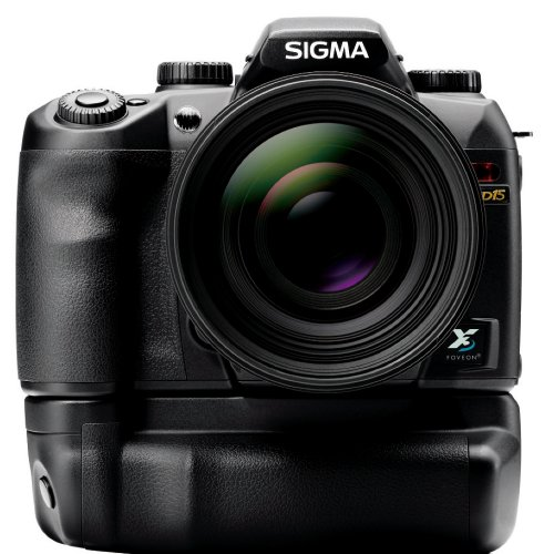 Sigma SD15 SLR-Digitalkamera (14 Megapixel, 7,6 cm Display, SD Kartenslots) schwarz - 2