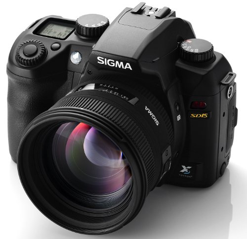 Sigma SD15 SLR-Digitalkamera (14 Megapixel, 7,6 cm Display, SD Kartenslots) schwarz - 4