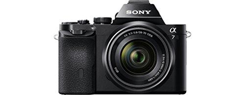 Sony Alpha 7KB Systemkamera (24,3 Megapixel, 7,6 cm (3 Zoll) Display, BIONZ X, 2,3 Megapixel OLED Sucher, NFC) inkl. SEL 28-70mm schwarz - 1