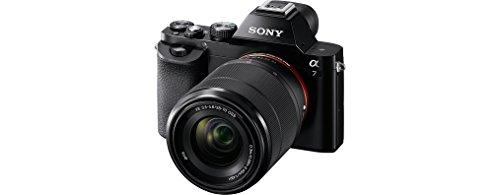 Sony Alpha 7KB Systemkamera (24,3 Megapixel, 7,6 cm (3 Zoll) Display, BIONZ X, 2,3 Megapixel OLED Sucher, NFC) inkl. SEL 28-70mm schwarz - 2