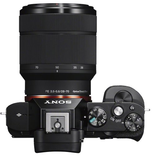 Sony Alpha 7KB Systemkamera (24,3 Megapixel, 7,6 cm (3 Zoll) Display, BIONZ X, 2,3 Megapixel OLED Sucher, NFC) inkl. SEL 28-70mm schwarz - 8