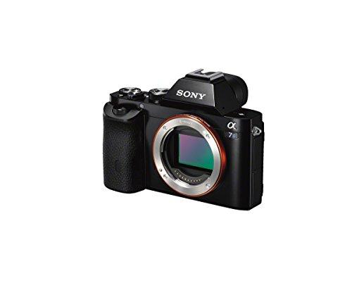 Sony Alpha 7s Digitalkamera (12,2 Megapixel, 7,6 cm (3 Zoll) LCD Display, Full HD, Unkomprimierter Output via HDMI (4K/Full HD), Silent Shooting Modus, staub- und spritzwassergeschützt) - 2
