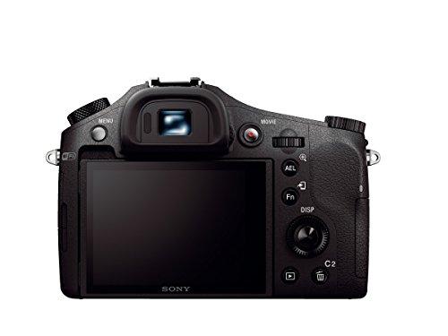 Sony DSC-RX10M2 Digitalkamera (Stacked Exmor RS CMOS Sensor, 40-fach Super-Zeitlupe, 4K Video, Anti-Distortion Verschluss, 24-200 mm ZEISS Vario-Sonnar T) schwarz - 1
