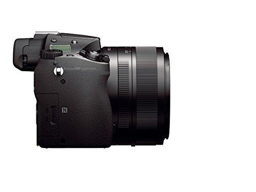 Sony DSC-RX10M2 Digitalkamera (Stacked Exmor RS CMOS Sensor, 40-fach Super-Zeitlupe, 4K Video, Anti-Distortion Verschluss, 24-200 mm ZEISS Vario-Sonnar T) schwarz - 2