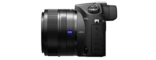 Sony DSC-RX10M2 Digitalkamera (Stacked Exmor RS CMOS Sensor, 40-fach Super-Zeitlupe, 4K Video, Anti-Distortion Verschluss, 24-200 mm ZEISS Vario-Sonnar T) schwarz - 5