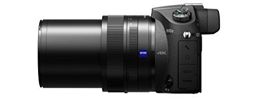 Sony DSC-RX10M2 Digitalkamera (Stacked Exmor RS CMOS Sensor, 40-fach Super-Zeitlupe, 4K Video, Anti-Distortion Verschluss, 24-200 mm ZEISS Vario-Sonnar T) schwarz - 6