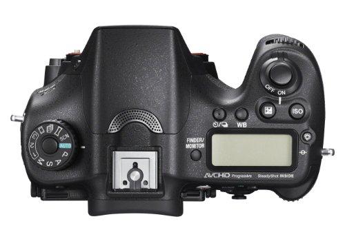 Sony ILCA Alpha 77 IIQ SLR-Digitalkamera (24,3 Megapixel EXMOR APS-C CMOS-Sensor, 7,6 cm (3 Zoll) LCD-Display, XGA, 79-Phasen AF-Messfelder, 12 Bilder/Sek, Full HD, WiFi / NFC, HDMI) mit OLED-Sucher und Autofokus  inkl. SAL-1650 Objektiv - 4