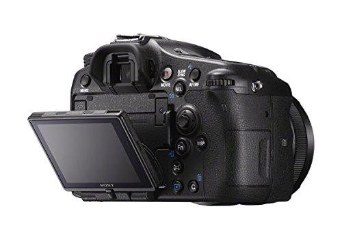Sony ILCA Alpha 77 IIQ SLR-Digitalkamera (24,3 Megapixel EXMOR APS-C CMOS-Sensor, 7,6 cm (3 Zoll) LCD-Display, XGA, 79-Phasen AF-Messfelder, 12 Bilder/Sek, Full HD, WiFi / NFC, HDMI) mit OLED-Sucher und Autofokus  inkl. SAL-1650 Objektiv - 7