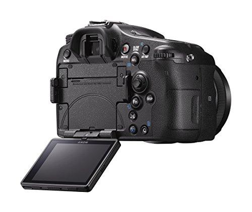 Sony ILCA Alpha 77 IIQ SLR-Digitalkamera (24,3 Megapixel EXMOR APS-C CMOS-Sensor, 7,6 cm (3 Zoll) LCD-Display, XGA, 79-Phasen AF-Messfelder, 12 Bilder/Sek, Full HD, WiFi / NFC, HDMI) mit OLED-Sucher und Autofokus  inkl. SAL-1650 Objektiv - 8