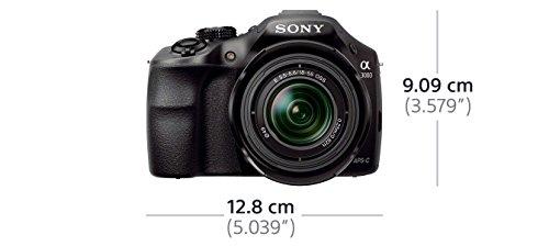 Sony ILCE3000KB a3000 E-Mount Systemkamera im SLR Gehäuse (20 Megapixel, Exmor APS-C CMOS Sensor, 7,6 cm (3 Zoll) LCD-Display, Live View, Full HD Video) inkl. E 18-55mm OSS Objektiv schwarz - 11