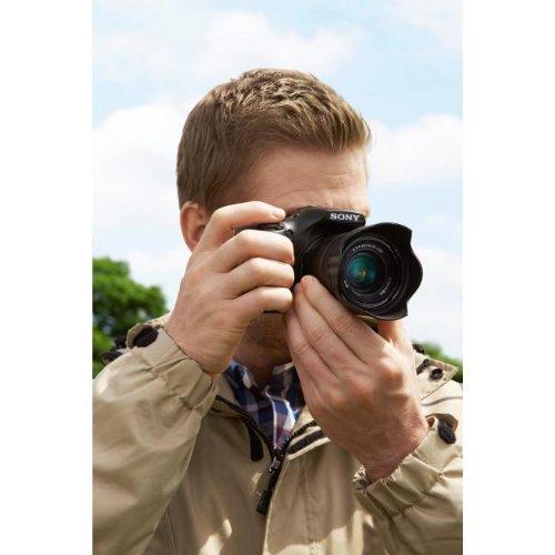 Sony ILCE3000KB a3000 E-Mount Systemkamera im SLR Gehäuse (20 Megapixel, Exmor APS-C CMOS Sensor, 7,6 cm (3 Zoll) LCD-Display, Live View, Full HD Video) inkl. E 18-55mm OSS Objektiv schwarz - 12