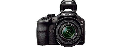 Sony ILCE3000KB a3000 E-Mount Systemkamera im SLR Gehäuse (20 Megapixel, Exmor APS-C CMOS Sensor, 7,6 cm (3 Zoll) LCD-Display, Live View, Full HD Video) inkl. E 18-55mm OSS Objektiv schwarz - 4