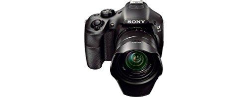 Sony ILCE3000KB a3000 E-Mount Systemkamera im SLR Gehäuse (20 Megapixel, Exmor APS-C CMOS Sensor, 7,6 cm (3 Zoll) LCD-Display, Live View, Full HD Video) inkl. E 18-55mm OSS Objektiv schwarz - 5