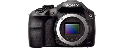 Sony ILCE3000KB a3000 E-Mount Systemkamera im SLR Gehäuse (20 Megapixel, Exmor APS-C CMOS Sensor, 7,6 cm (3 Zoll) LCD-Display, Live View, Full HD Video) inkl. E 18-55mm OSS Objektiv schwarz - 6