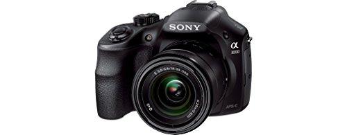 Sony ILCE3000KB a3000 E-Mount Systemkamera im SLR Gehäuse (20 Megapixel, Exmor APS-C CMOS Sensor, 7,6 cm (3 Zoll) LCD-Display, Live View, Full HD Video) inkl. E 18-55mm OSS Objektiv schwarz - 7