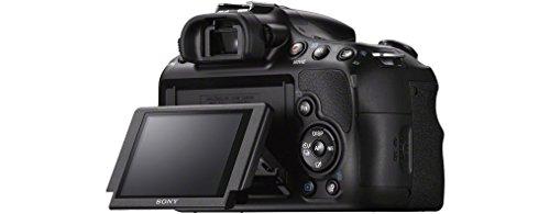 Sony SLT-A58K SLR-Digitalkamera (20,1 Megapixel, 6,7 cm (2,7 Zoll) LCD-Display, APS HD CMOS-Sensor, HDMI, USB 2.0)  inkl. SAL 18-55mm Objektiv schwarz - 10