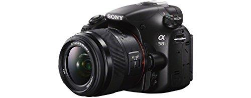 Sony SLT-A58K SLR-Digitalkamera (20,1 Megapixel, 6,7 cm (2,7 Zoll) LCD-Display, APS HD CMOS-Sensor, HDMI, USB 2.0)  inkl. SAL 18-55mm Objektiv schwarz - 7