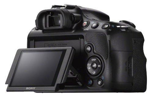 Sony SLT-A58Y SLR-Digitalkamera (20,1 Megapixel, 6,7 cm (2,7 Zoll) LCD-Display, APS HD CMOS-Sensor, HDMI, USB 2.0)  inkl. SAL 18-55mm & SAL 55-200mm Objektiv schwarz - 10