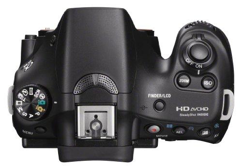 Sony SLT-A58Y SLR-Digitalkamera (20,1 Megapixel, 6,7 cm (2,7 Zoll) LCD-Display, APS HD CMOS-Sensor, HDMI, USB 2.0)  inkl. SAL 18-55mm & SAL 55-200mm Objektiv schwarz - 11