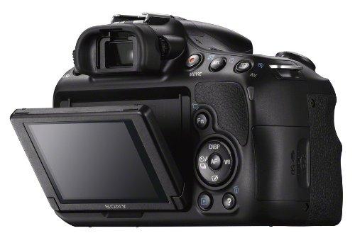 Sony SLT-A58Y SLR-Digitalkamera (20,1 Megapixel, 6,7 cm (2,7 Zoll) LCD-Display, APS HD CMOS-Sensor, HDMI, USB 2.0)  inkl. SAL 18-55mm & SAL 55-200mm Objektiv schwarz - 9