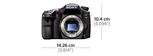 Sony SLT-A77VQ SLR-Digitalkamera (24 Megapixel, 7,6 cm (3 Zoll) Display, bildstabilisiert) Kit inkl. SAL 16-50mm DT F2.8 SSM Objektiv schwarz - 12